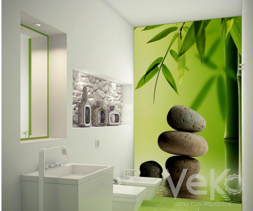5 tips para decorar tu hogar con fotomurales - Fotomurales para banos ...